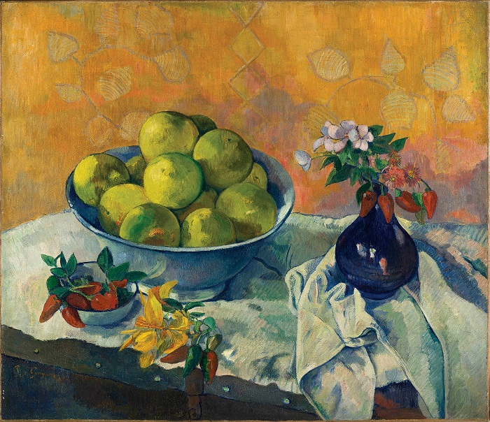 Paul Gauguin_Nature morte aux Pamplemousses (1)